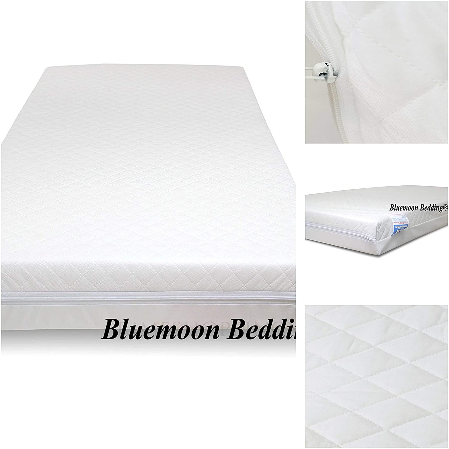 Redkite /& Mamas /& Papas 95 x 65 x 7 cm New Thick Travel Cot Mattress for Graco