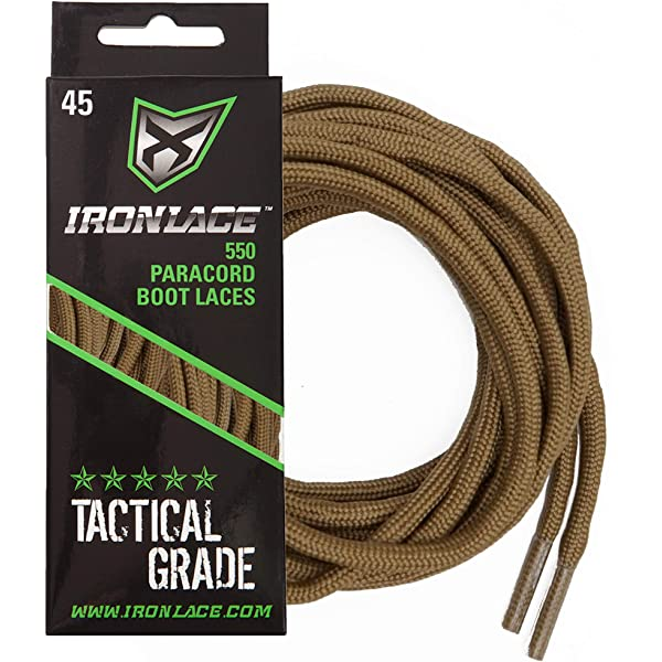 LACE LENGTH GUIDE FOR SHOELACES and BOOT LACES Ironlace