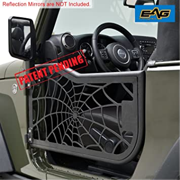 E-Autogrilles Tubular Spider Web Doors for 07-17 Jeep Wrangler 2 Door JK & Amazon.com: E-Autogrilles Tubular Spider Web Doors for 07-17 Jeep ... Pezcame.Com