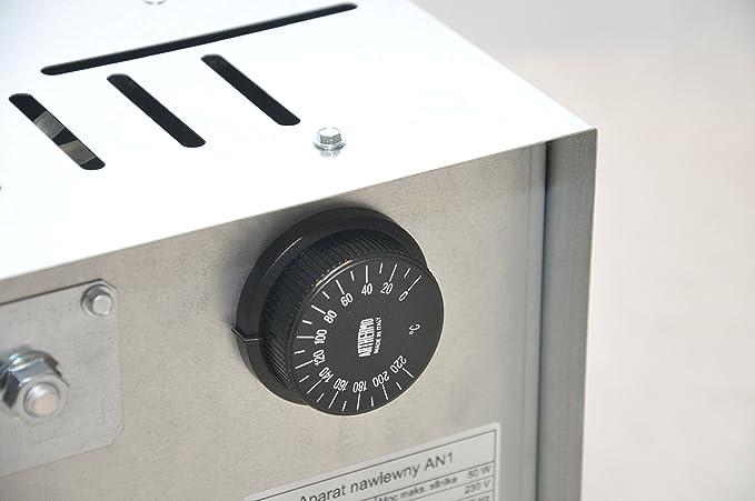 Chimenea de distribución de aire caliente Ccon ventilador AN1, 125 ...