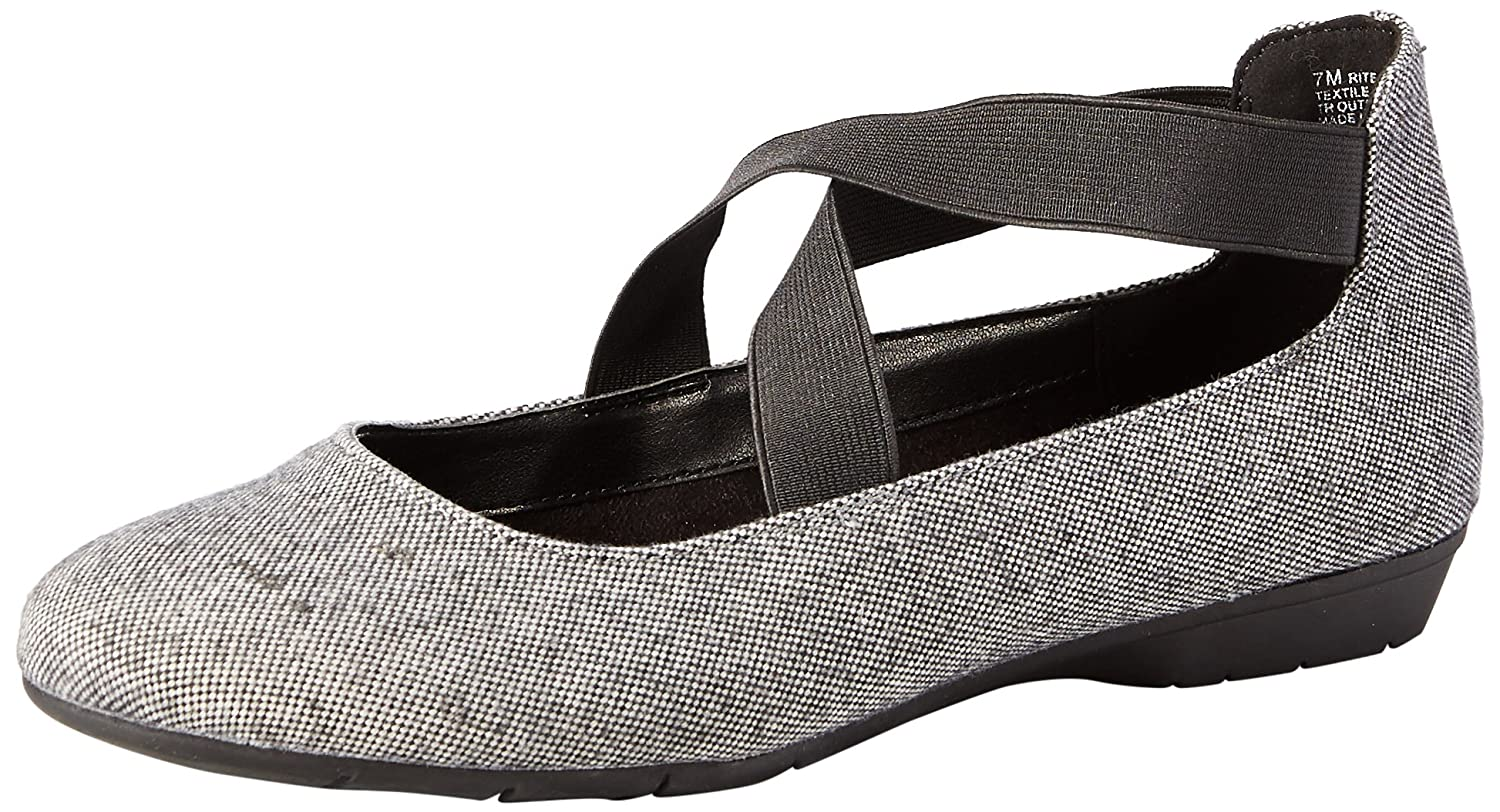 Aerosoles Women's Rite Now Ballet Flat B073RYHX1D 7 M US|Grey Wool