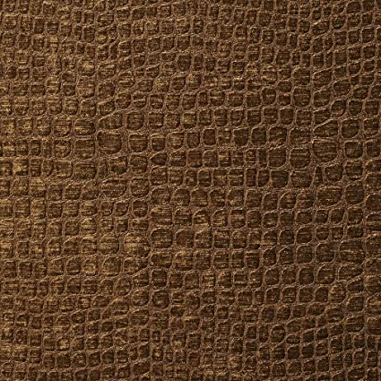 Amazon Com A0151k Brown Textured Alligator Shiny Woven Velvet