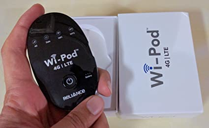RELIANCE WI-POD 4g LTE