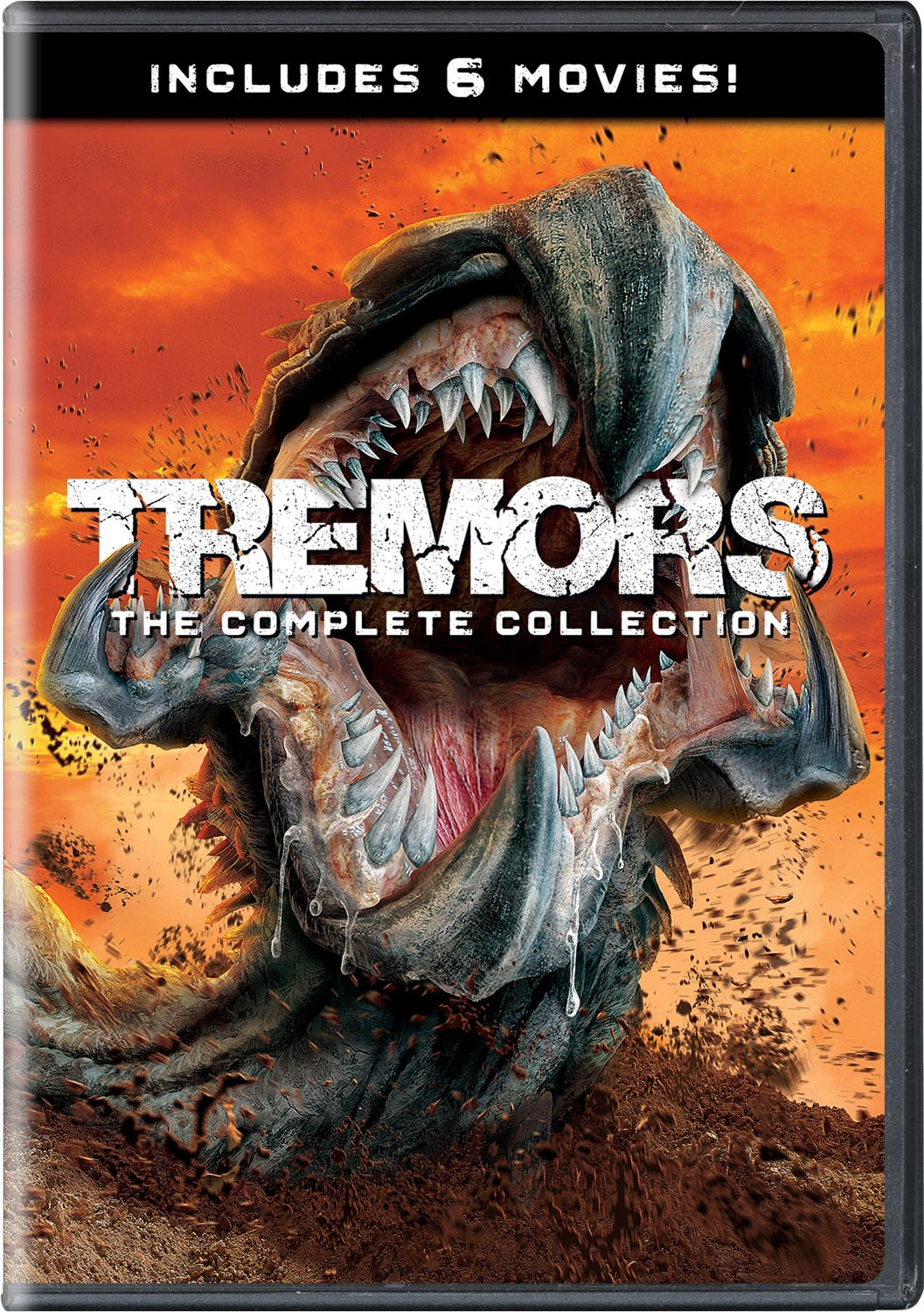DVD : Tremors: Complete Collection (Boxed Set, 4PC)