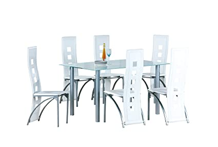 Sedie In Metallo E Plastica : Avanti trendstore melide set con tavolo e sedie in metallo