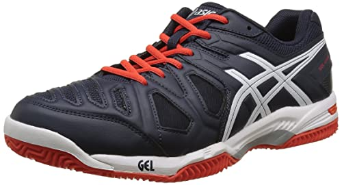 Asics Gel Game 5 Clay, Zapatillas de Tenis para Hombre, Azul (Sky Captain/White/Orange), 40 EU: Amazon.es: Zapatos y complementos