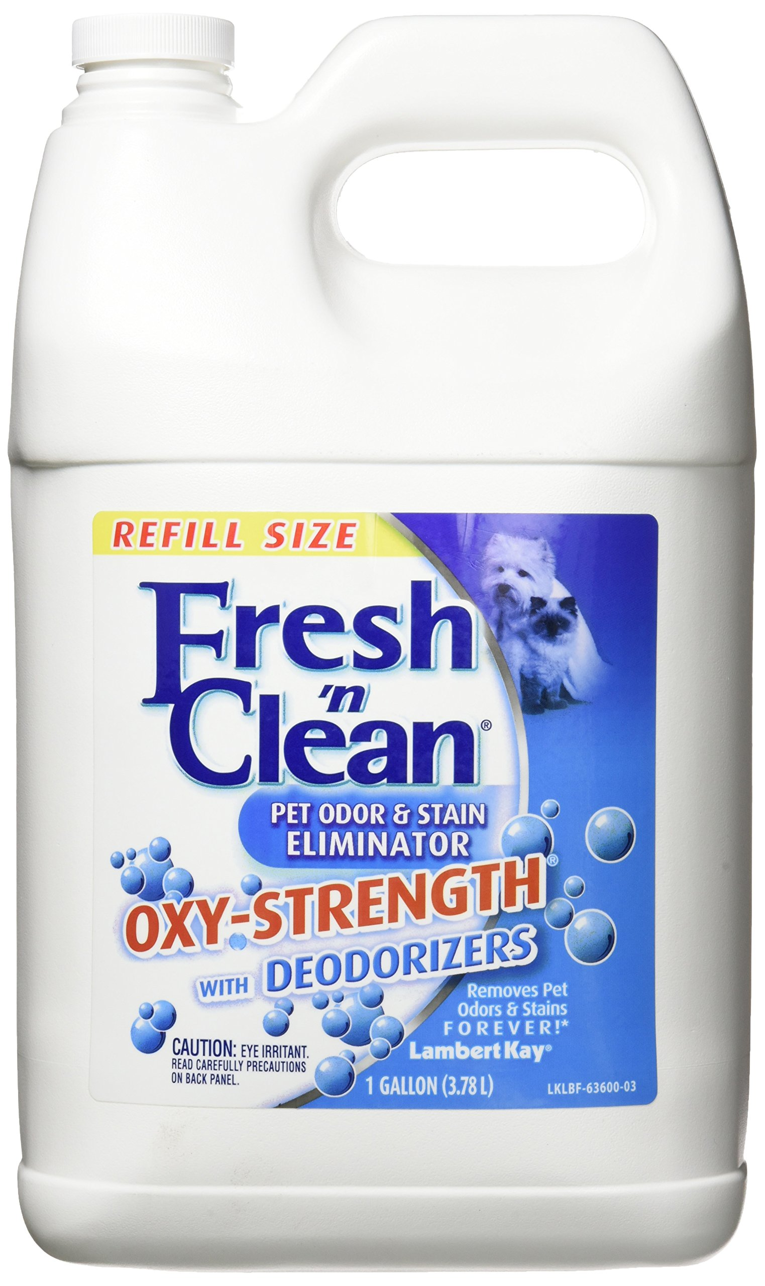 Fresh N Clean Lambert Kay Oxy-Strength Pet Odor and Stain Eliminator, 1-Gallon
