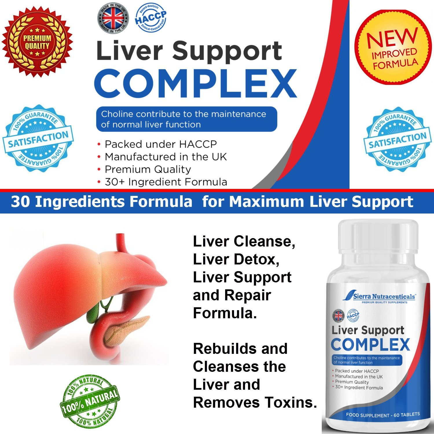 1 Premium Liver Cleanse Liver Detox Liver Support And Repair