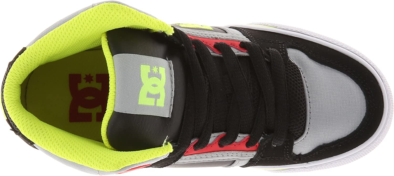 Little Kid//Big Kid DC Spartan High Skate Shoe