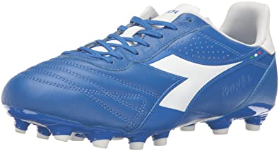 d74e3fd5d0c Diadora Men s Brasil K Plus MG 14 Soccer Shoe