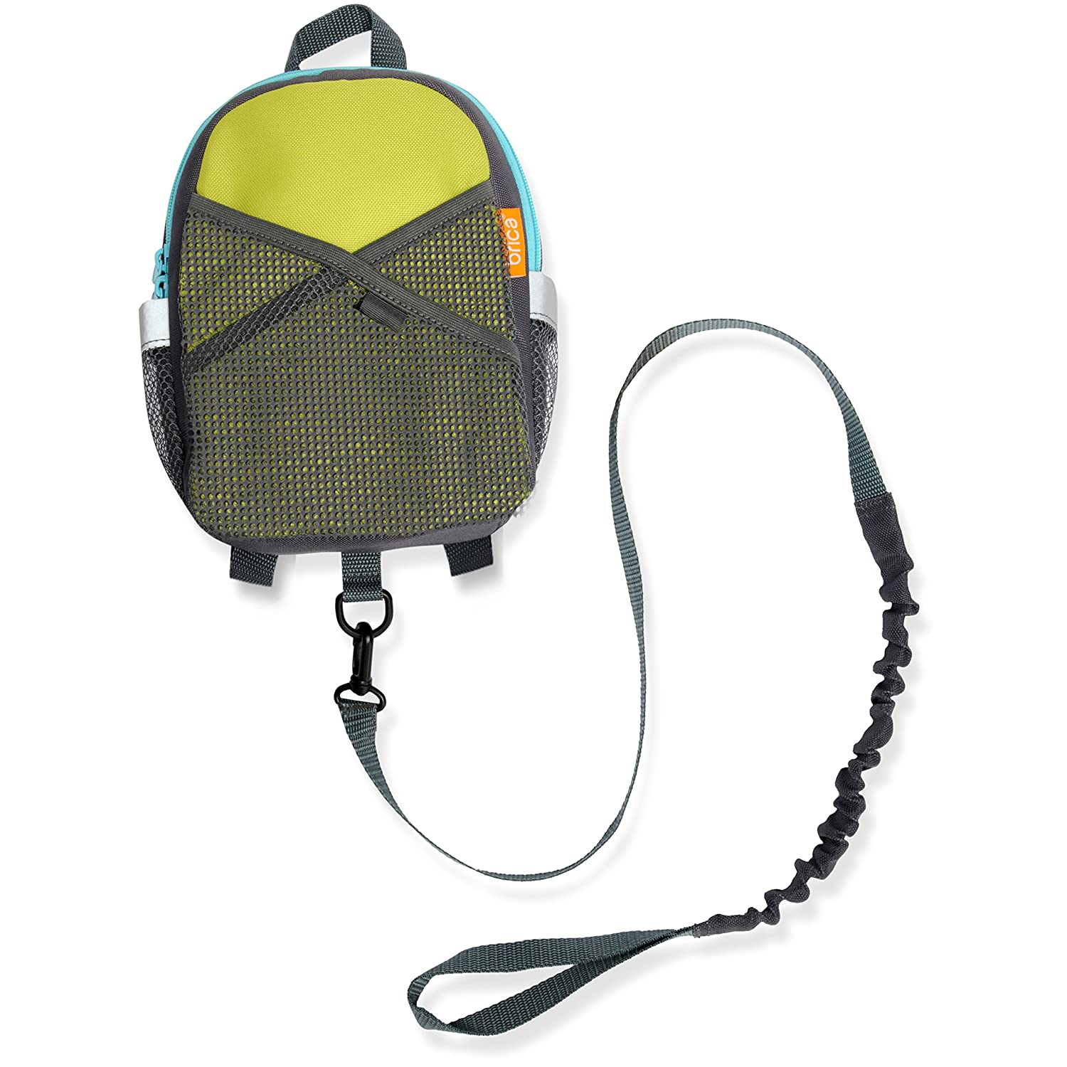 Brica By-My-Side Safety Harness Backpack, Green/Blue 60010
