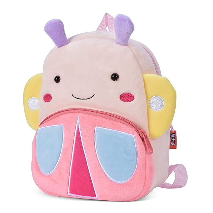 26b6631f20 Cute Small Toddler Backpack for Girl Boy Kids Plush 3D Animal Cartoon Mini  Preschool Bag for