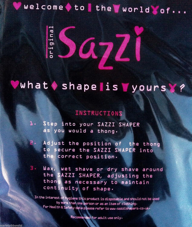 Sazzi Bikini Line Shaper - Pubic Hair shaping: Amazon.co.uk: Health ...