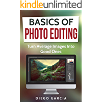 Basics Of Photo Editing: Turn Average Images Into Good Ones (Learn Photography Book 2) (English Edition)