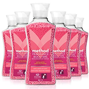 Method Naturally Derived Fragrance Booster, Spring Garden, 6 Count