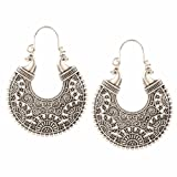 Amazon Price History for:Indian Bollywood Ethnic Oxidised German Silver Earrings for Girls & Women