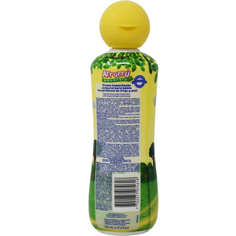 Amazon.com : Arrurru Naturals Crema Humectante Formula Original (Moisturizing Body Lotion For Baby Original Formula) 7.4 oz/ 220 ml : Baby