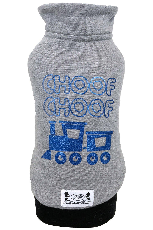Grey S M grey S M Trilly tutti Brilli Nico, dog's sweater, grey, S M