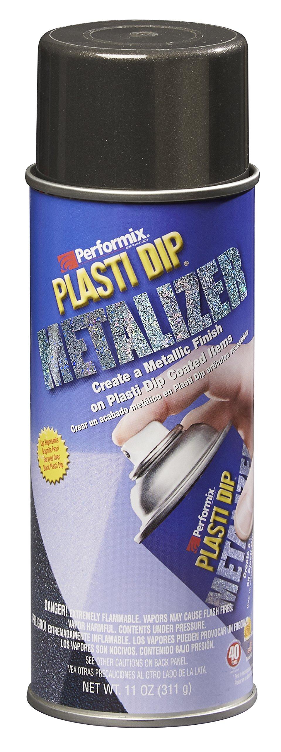 Performix 11287-6-6PK Graphite Pearl Metalizer Plasti Dip Spray - 11 oz., (Pack of 6)