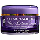 Maxi-Britener Skin Lightening Cream: Gentle & Effective Whitening & Brightening from 5 Natural Skin Lighteners. All Skin Types & Body Areas. Even Out Skin Tone. Leaves Skin Soft, Smooth and Luminous