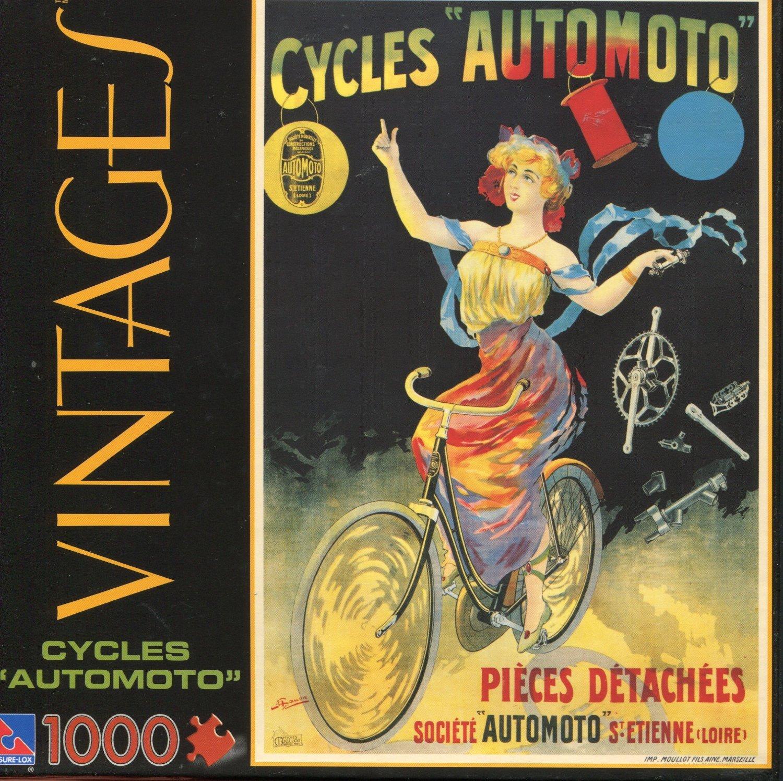 Vintages 1000 Piece Jigsaw Puzzle: Royat