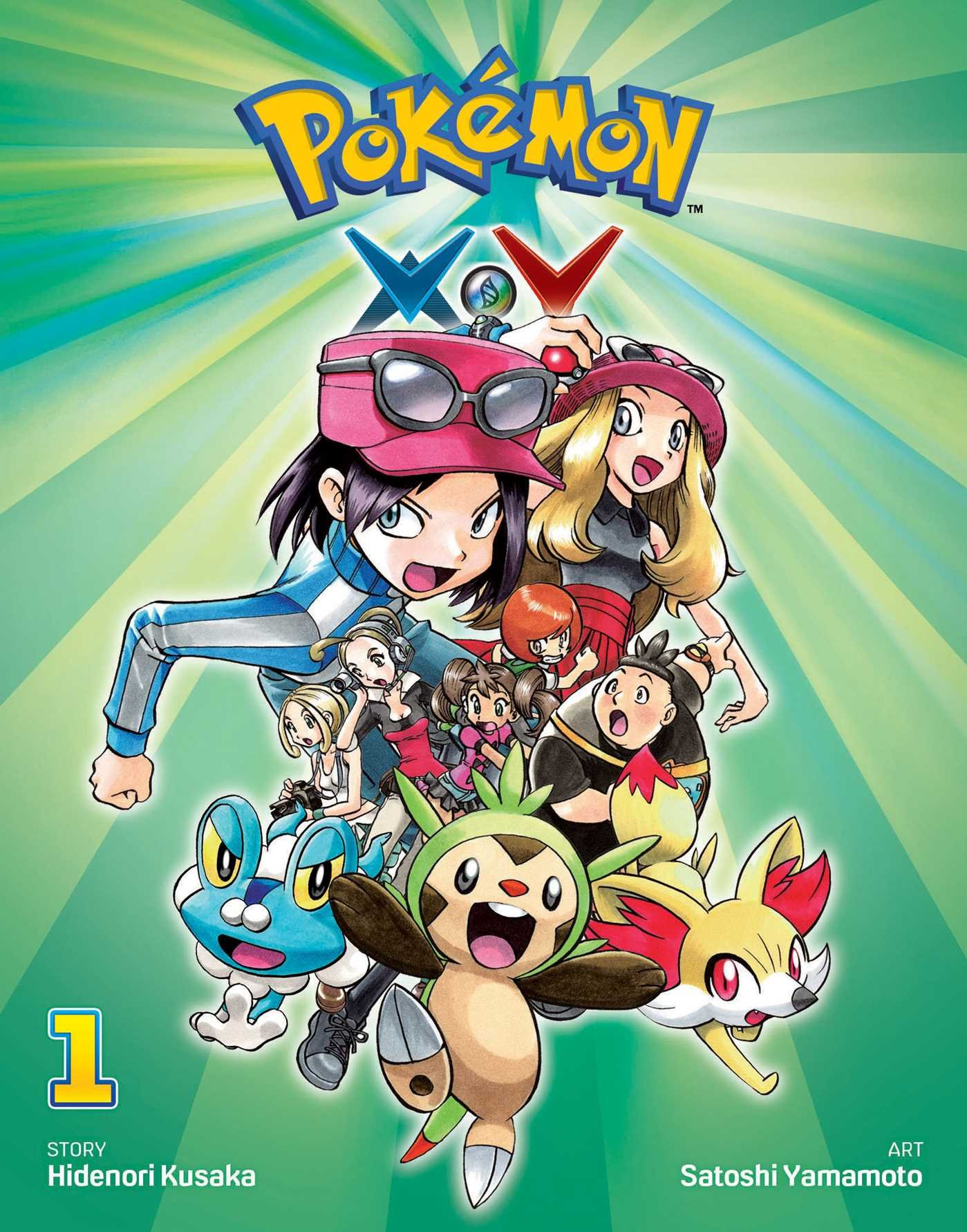 Pok%C3%A9mon X Y Vol 1 Pokemon product image