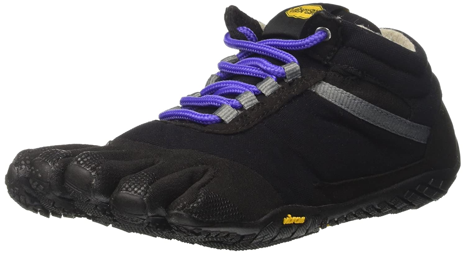 Vibram Trek Ascent Insulated-Women's Shoe B01149EGUU 36.0 B EU (6.5-7 US)|Black/Purple