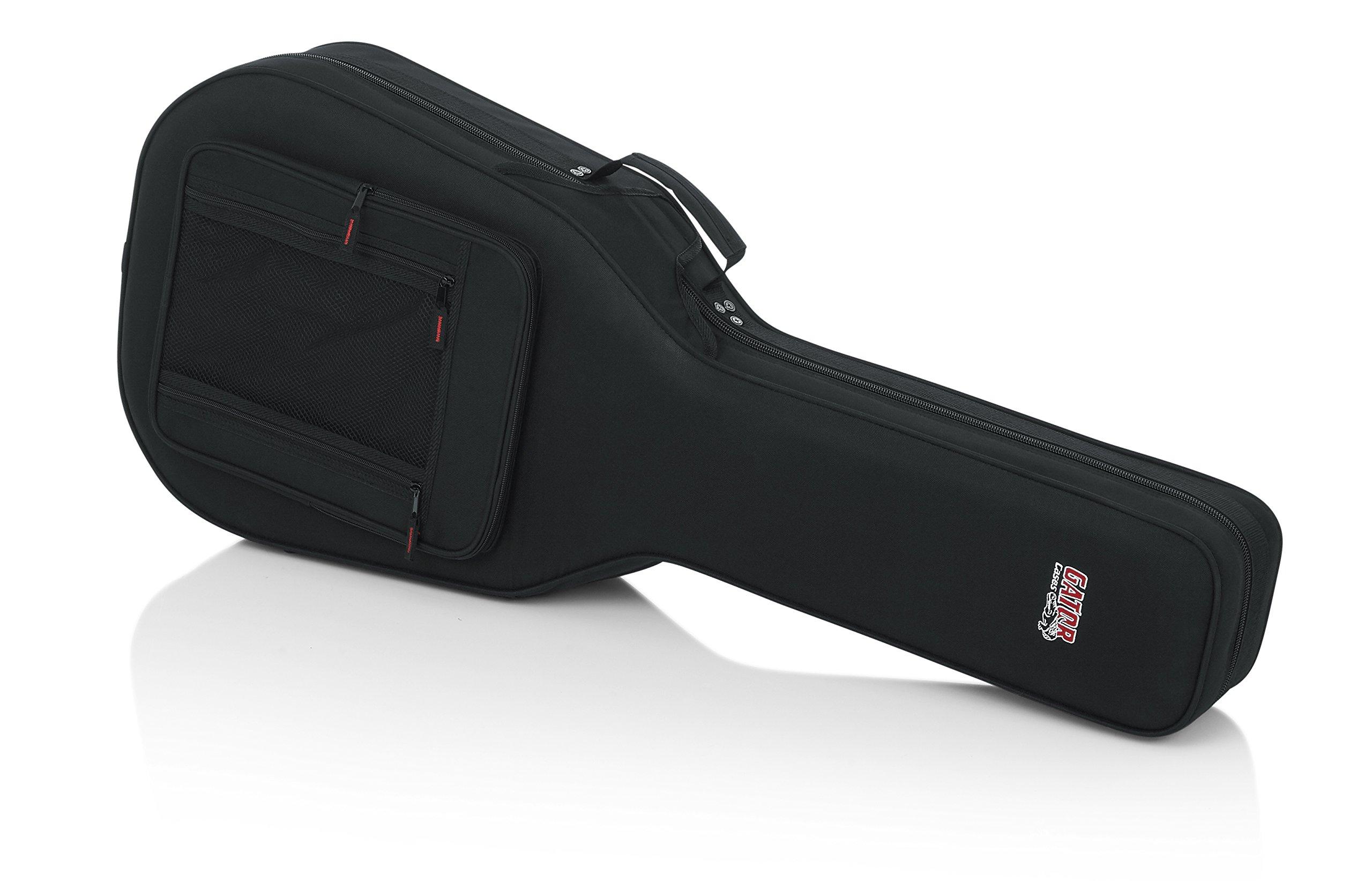gator cases lightweight polyfoam acoustic guitar case fits taylor gs mini guitars gl gsmini. Black Bedroom Furniture Sets. Home Design Ideas