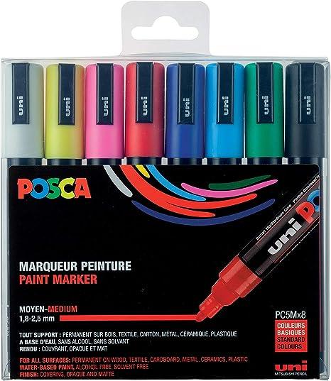 POSCA PC 5 m 33 cm gamme compl/ète de toutes les couleurs