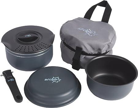 Bo-Camp Trekking - Set de Cocina de 5 Piezas con ...