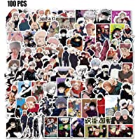Jujutsu Kaisen Stickers 100 pcs Anime Stickers Pack for DIY Laptop Skateboard Luggage Computer Waterproof Decals for…