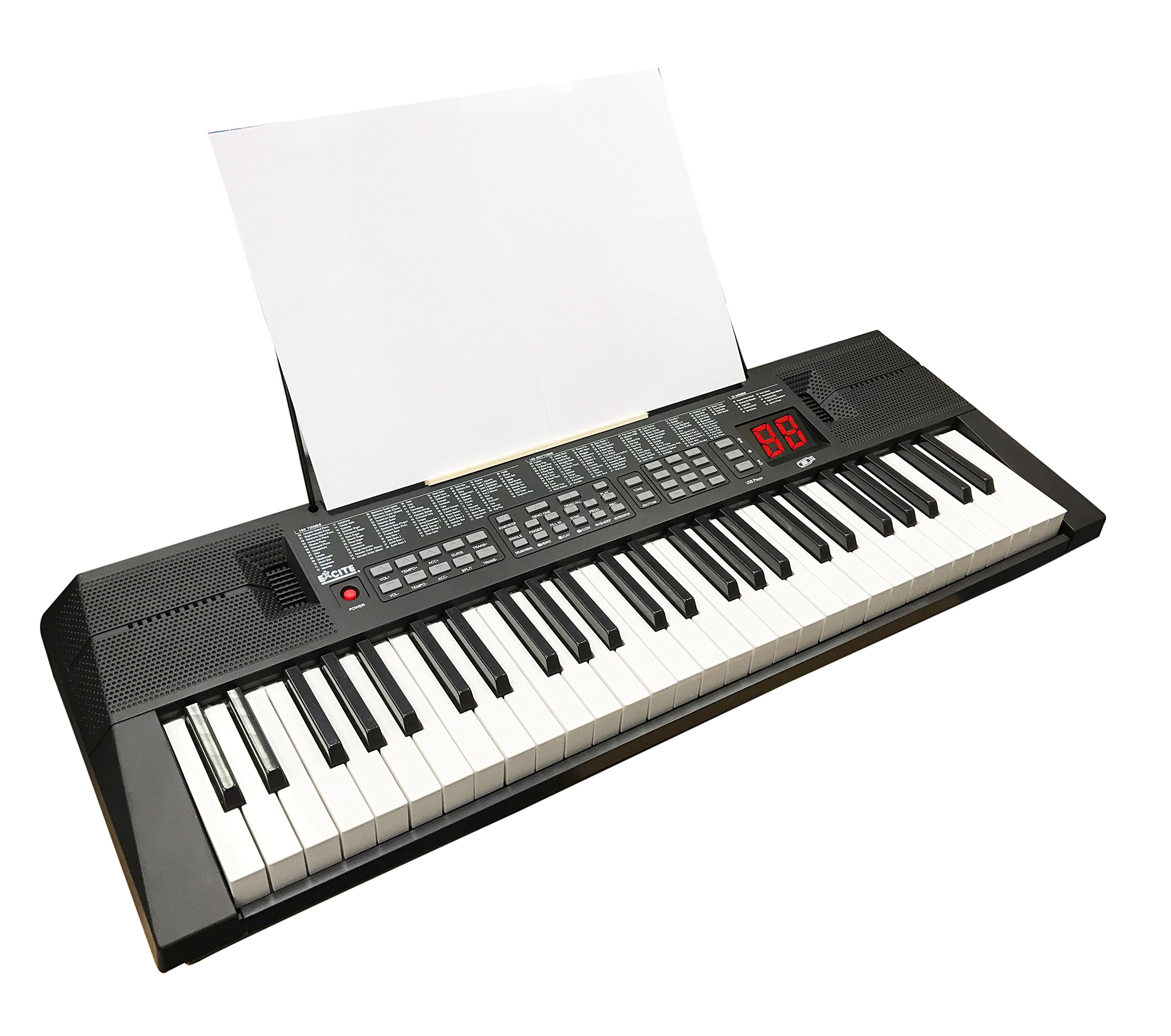 Electronic Music Piano Digital Keyboard - 54 piano keys