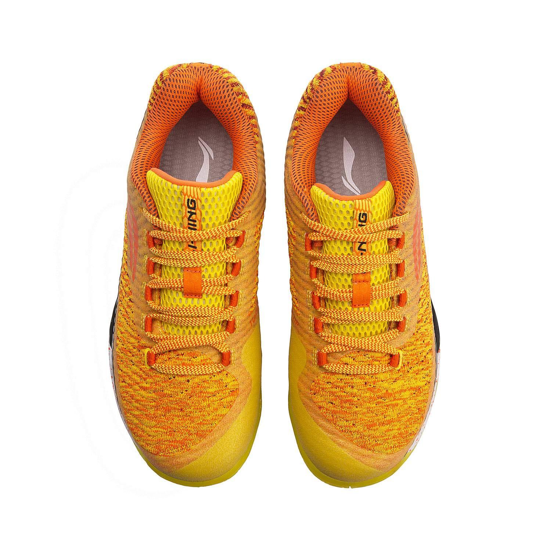 LI-NING LI-NING LI-NING 2018 AYAN011-1 - Zapatillas de Bádminton para Hombre, Color Naranja, AYAN011-1-Naranja, 8 US 847a95