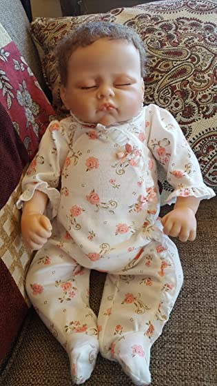 The Ashton - Drake Galleries Sophia Breathes, Coos and has a Heartbeat - So Truly Real Lifelike, Interactive & Realistic Weighted Newborn Baby Doll 19-inches A great buy. Such a sweetie.