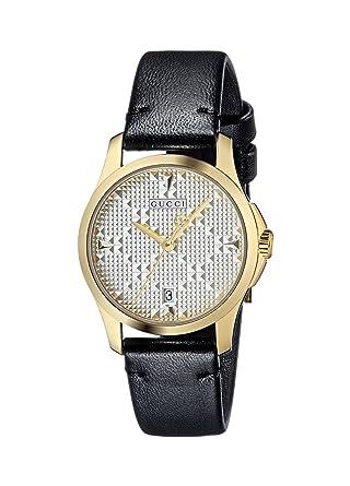 da40b521bf9 Amazon.com  Gucci G-Timeless Silver Dial Ladies Watch YA126571  Watches