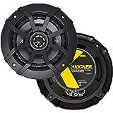"Kicker CSC5 5.25"" 225W 2 Way 4 Ohm Coaxial Car Audio Speakers, Pair | 43CSC54"