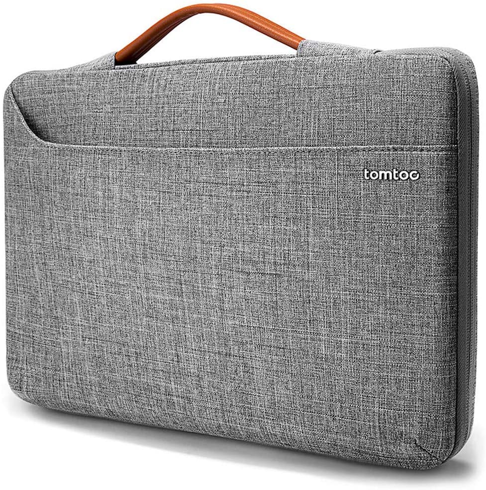 tomtoc 360 Protective Laptop Sleeve Case for 13.3 Inch Old MacBook Air, Old MacBook Pro Retina, Notebook Ultrabook Bag Carrying Briefcase for 13 Inch HP ENVY, Spectre x360, Lenovo IdeaPad 900 700 300