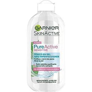 Garnier PureActive Sensitive Gel Tónico Anti-Imperfecciones