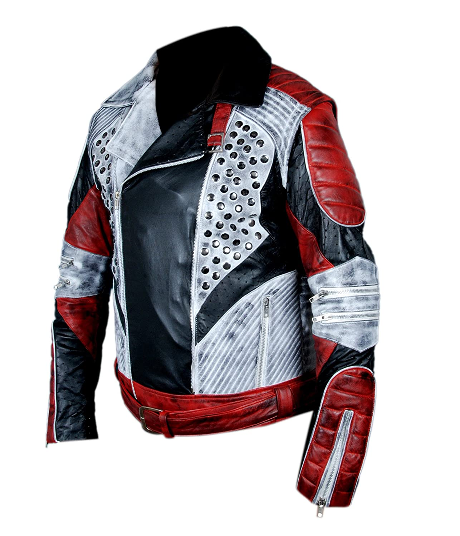 Flesh /& Hide F/&H Mens Distressed Carlos Cameron Boyce Descendants 2 Jacket