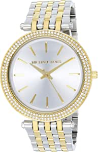 Michael Kors for Women - Analog Stainless Steel Band Watch - MK3215