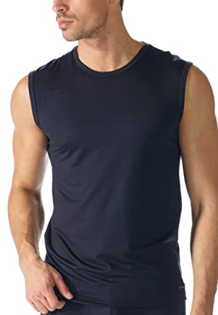 941dd003f78221 Mey Basics Network Herren Shirts ohne Arm 34237  Mey  Amazon.de  Bekleidung