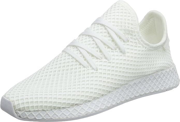adidas Deerupt Runner Sneakers Fitnessschuhe Damen Herren Unisex weiß (Elfenbein) Größe 37 1/3 bis 48