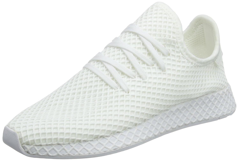 Adidas Deerupt Runner, Zapatillas de Gimnasia para Hombre 44 2/3 EU|Blanco (Footwear White/Footwear White/Footwear White 0)