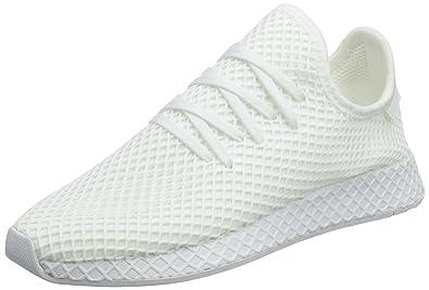 adidas Originals Men's Deerupt Runner, Ftwwht Sneakers 10 UK