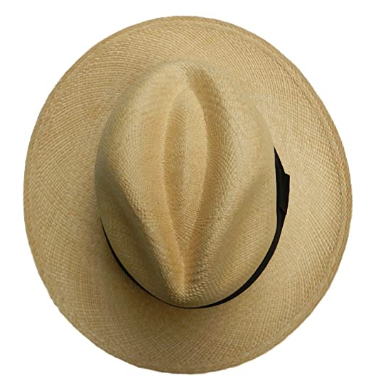 Equal Earth New Genuine Panama Hat Rolling Folding Quality with Travel Tube  - Natural  Amazon.co.uk  Clothing 86ebb1bf876b