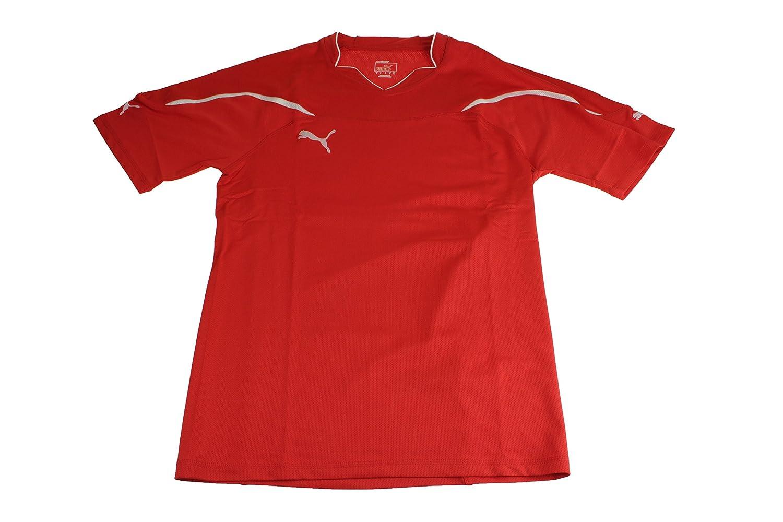Puma Fútbol Hombre Camiseta Jersey USP Camiseta gr L rojo red 739094 01: Amazon.es: Deportes y aire libre