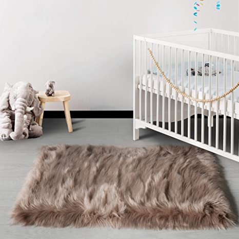 Sensational Haocoo Faux Fur Sheepskin Rug Fuzzy Fluffy Rectangle Coffee Area Rugs 2X 4Kids Carpet For Bedroom Living Room Floor Or Across Your Armchair Sofa Ocoug Best Dining Table And Chair Ideas Images Ocougorg