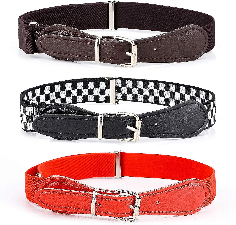 Stretch Belts for Boys and Girls BiBest Kids Adjustable Elastic Belts for Toddler