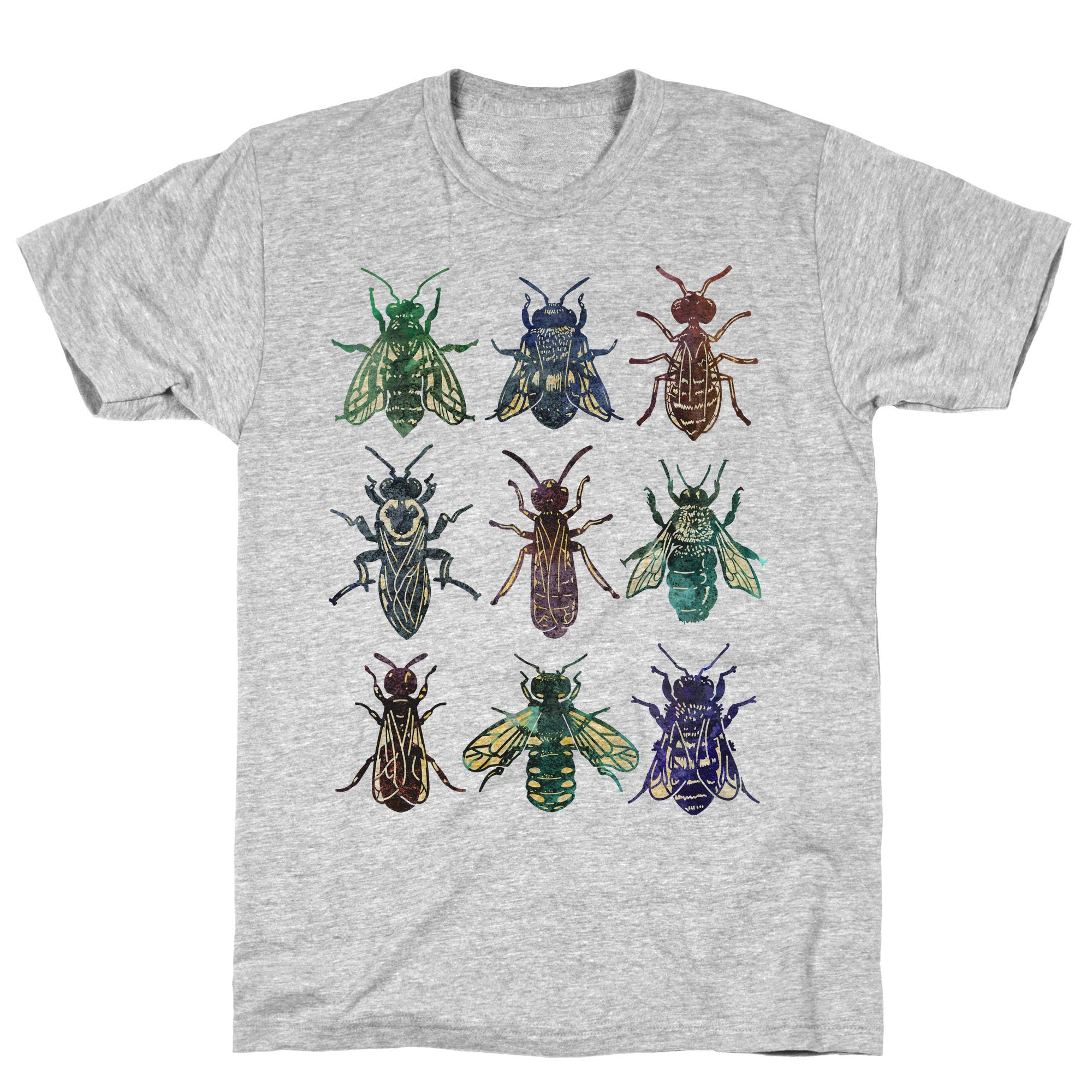 Bee Species Athletic Gray S Ts Shirts
