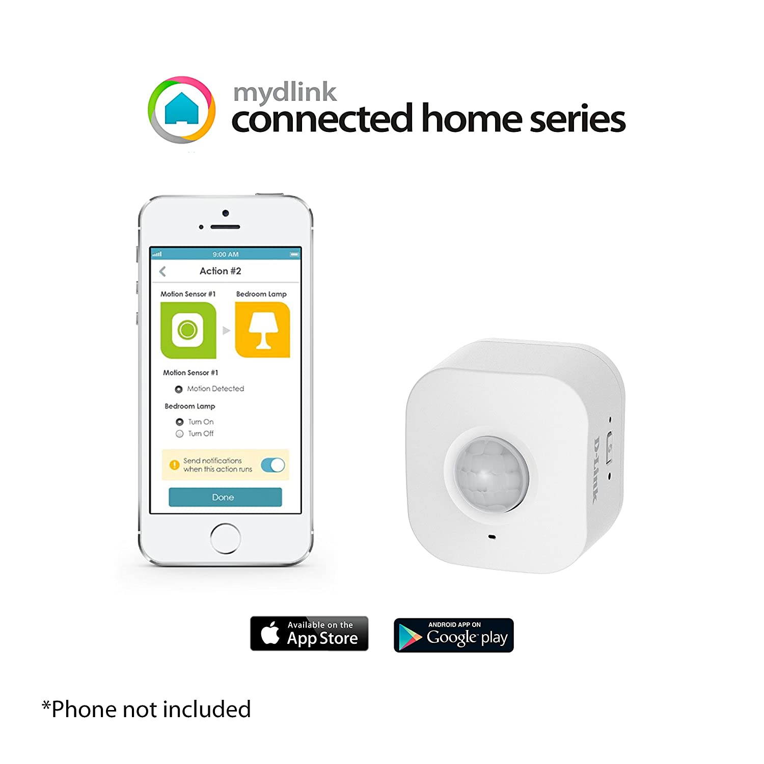 D Link Dch S150 Mydlink Wi Fi Smart Motion Sensor Very Basic Tracking With 2 Pir Sensors Lucky Larry Camera Photo